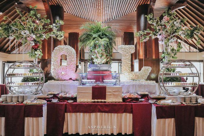Wedding Reception Of Mrs Sabrina & Mr Luthfi by PUSPA CATERING - 003