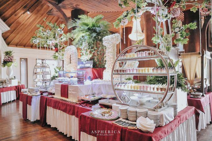 Wedding Reception Of Mrs Sabrina & Mr Luthfi by PUSPA CATERING - 004