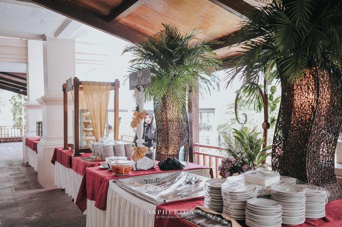 Wedding Reception Of Mrs Sabrina & Mr Luthfi by PUSPA CATERING - 006