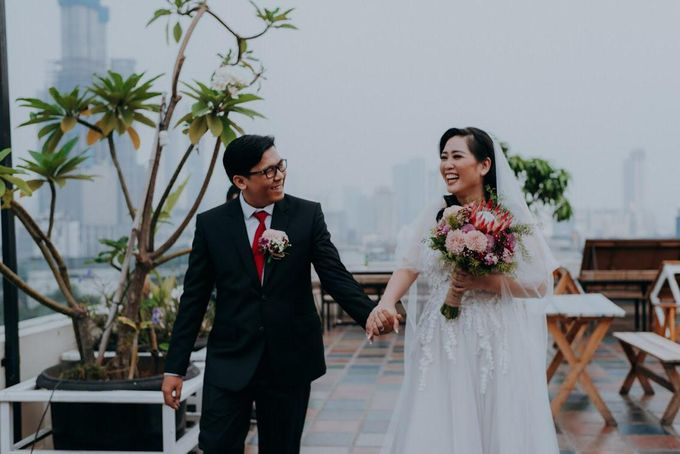 Dony Christian - Tania Grace Wedding by ARLO Tailor - 001