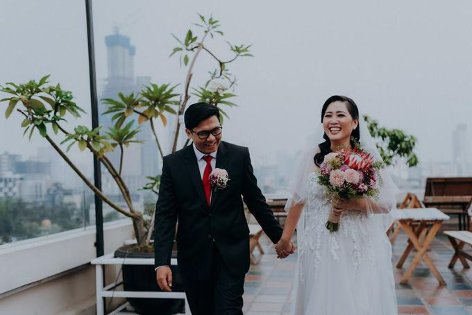 Dony Christian - Tania Grace Wedding by ARLO Tailor - 002