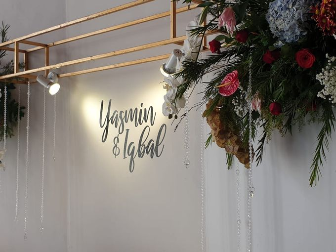 The Wedding Iqbal & Yasmin by AVIARY Bintaro - 006