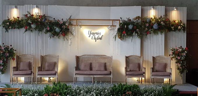The Wedding Iqbal & Yasmin by AVIARY Bintaro - 010