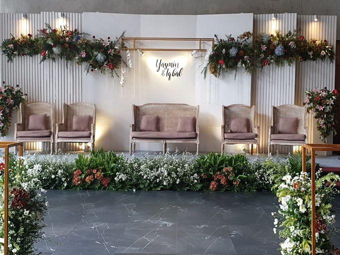 The Wedding Iqbal & Yasmin by AVIARY Bintaro - 013