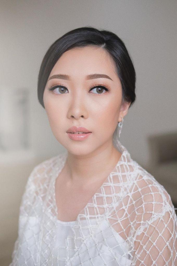 The Wedding by Brigita Indriani by VA Make Up Artist - 026