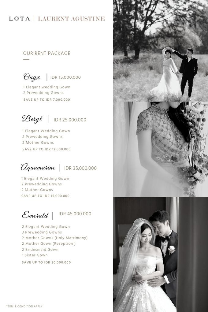 Our Pricelist by LOTA   LAURENT AGUSTINE - 001