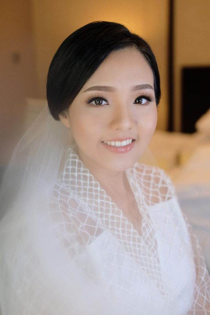 The Wedding by Brigita Indriani by VA Make Up Artist - 029
