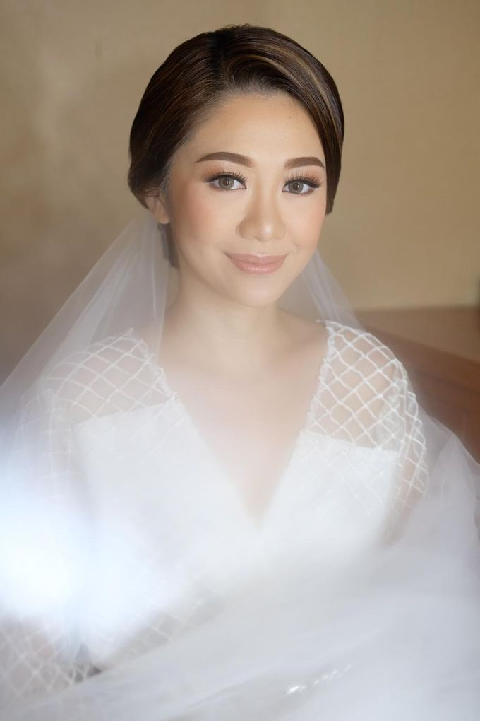 The Wedding by Brigita Indriani by VA Make Up Artist - 030