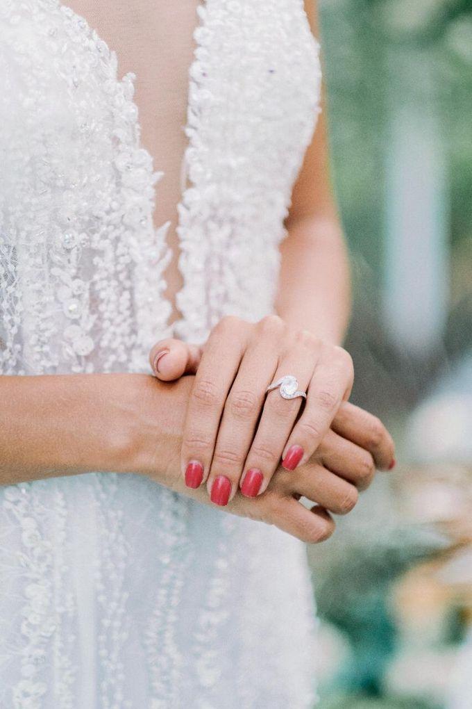 Yannick and Anna Wedding by Element by Westin Bali Ubud - 005