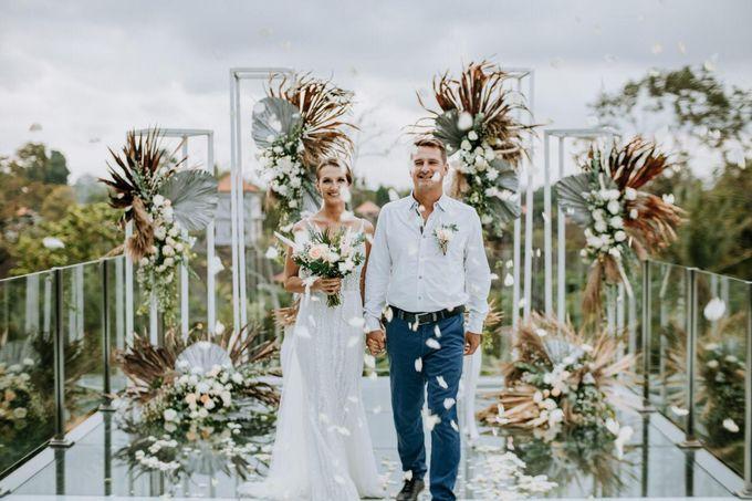Yannick and Anna Wedding by Element by Westin Bali Ubud - 009