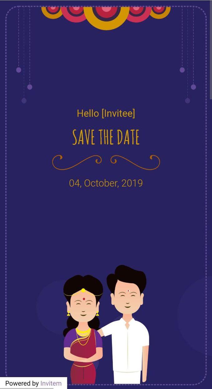Online digital wedding Invitation by Invitem - 001