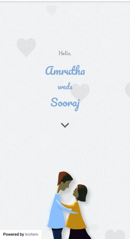 Online digital wedding Invitation by Invitem - 002