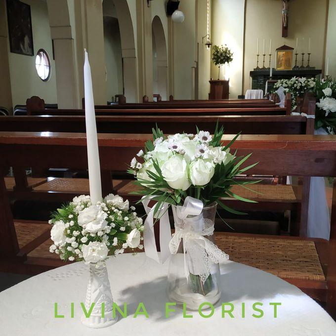 Dekorasi Gereja By Livina Florist Bridestorycom