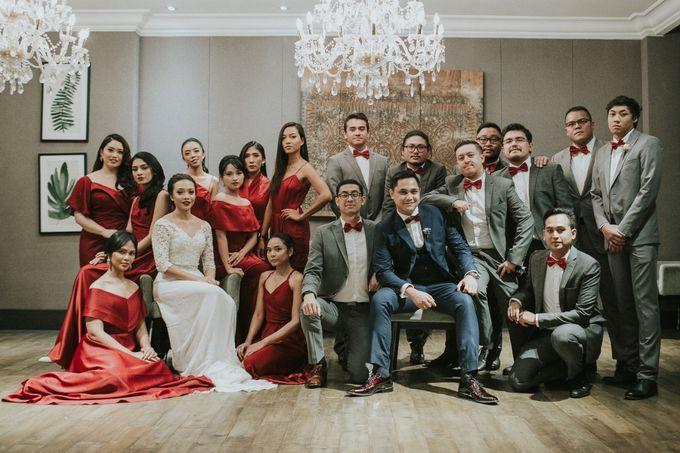Warm & Intimate Wedding Syiki & Andhika at Suasana Restaurant by Sugarbee Wedding Organizer - 002