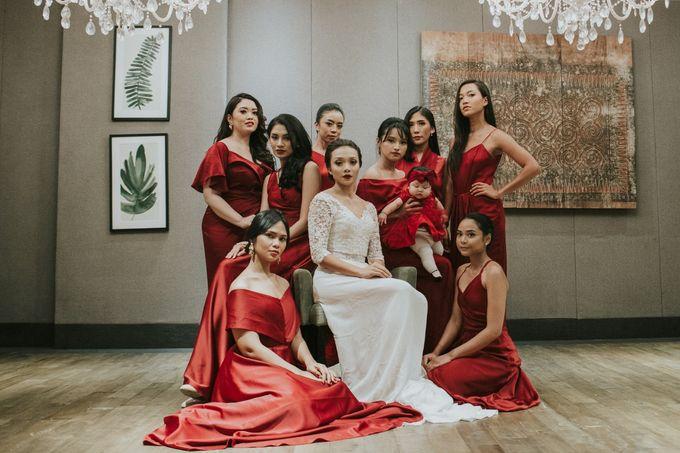 Warm & Intimate Wedding Syiki & Andhika at Suasana Restaurant by Sugarbee Wedding Organizer - 001