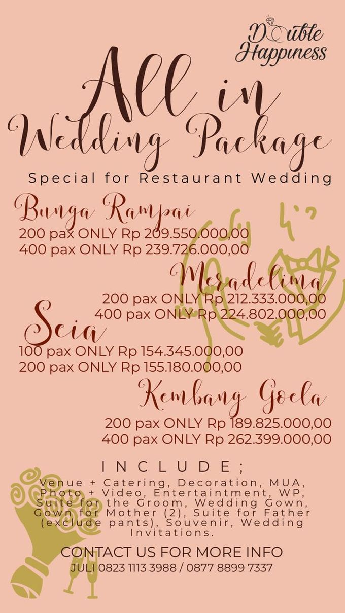 BIGGEST PROMOTION by Double Happiness Wedding Organizer - 007