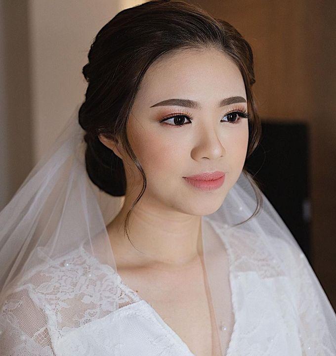 The Wedding by Brigita Indriani by VA Make Up Artist - 030