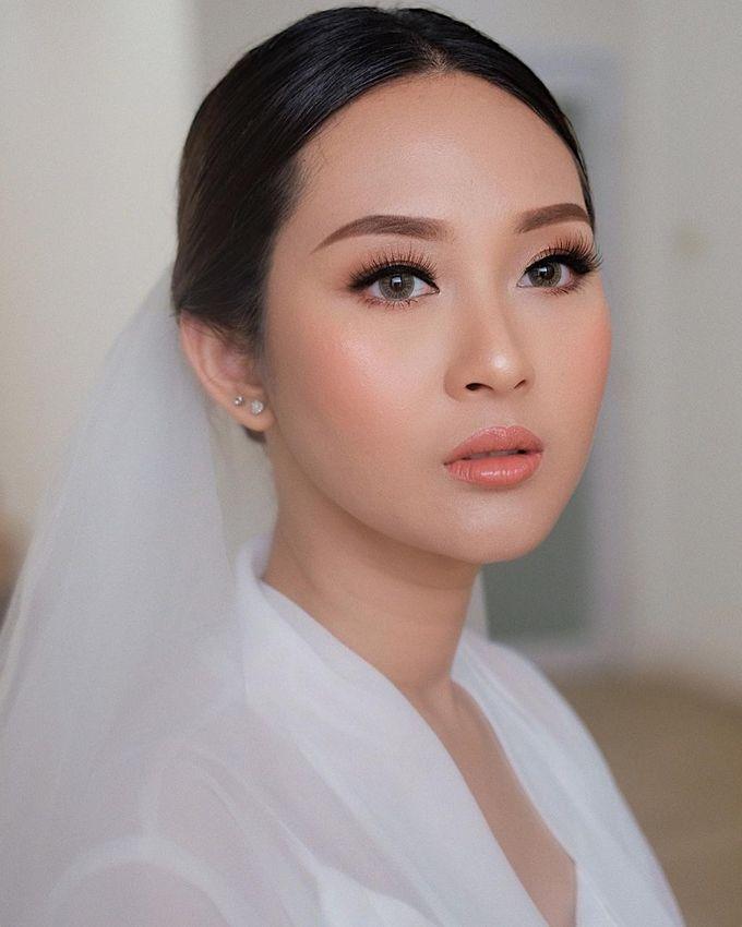 The Wedding by Brigita Indriani by VA Make Up Artist - 031