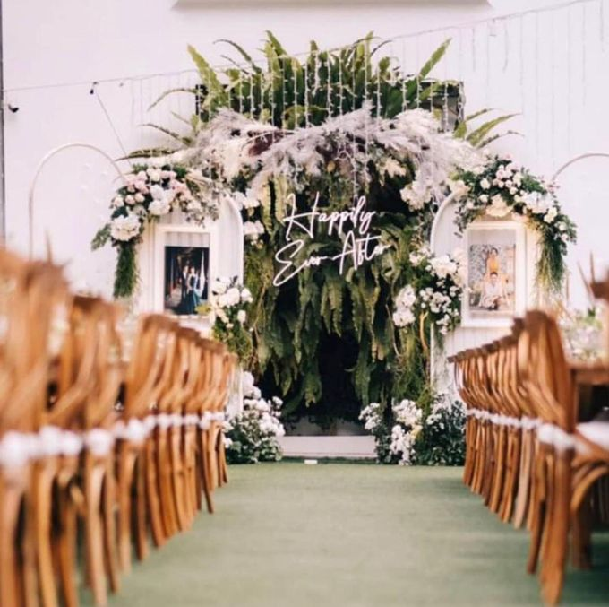 Aldo & Ghea Wedding Decoration by HOUSE OF PHOTOGRAPHERS - 011