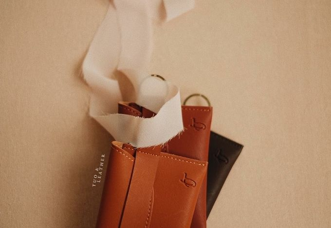 Inas and Taufan Card Holder by Yuo And Leather - 003