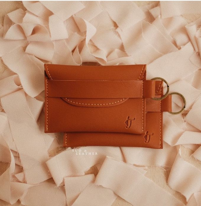 Inas and Taufan Card Holder by Yuo And Leather - 004