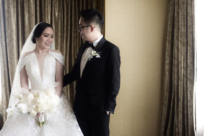 The Wedding of Dimitri & Amanda by PRIVATE WEDDING ORGANIZER - 002
