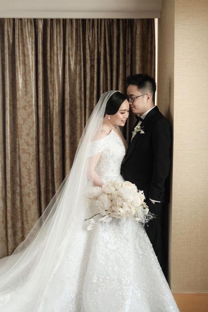 The Wedding of Dimitri & Amanda by PRIVATE WEDDING ORGANIZER - 006