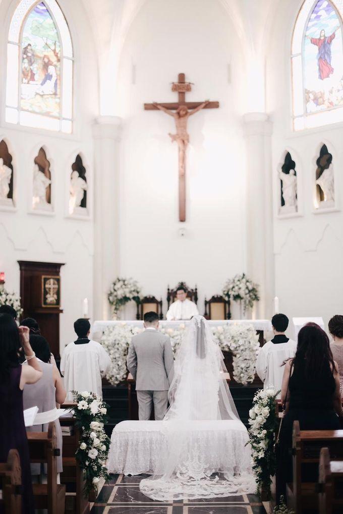The Wedding of Dimitri & Amanda by PRIVATE WEDDING ORGANIZER - 007