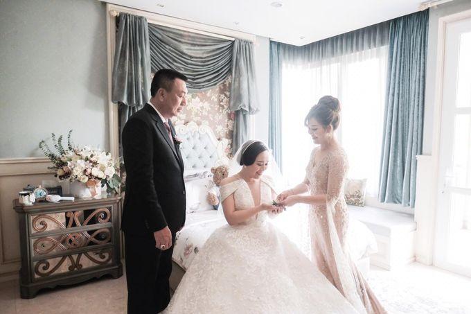 The Wedding of Dimitri & Amanda by PRIVATE WEDDING ORGANIZER - 009