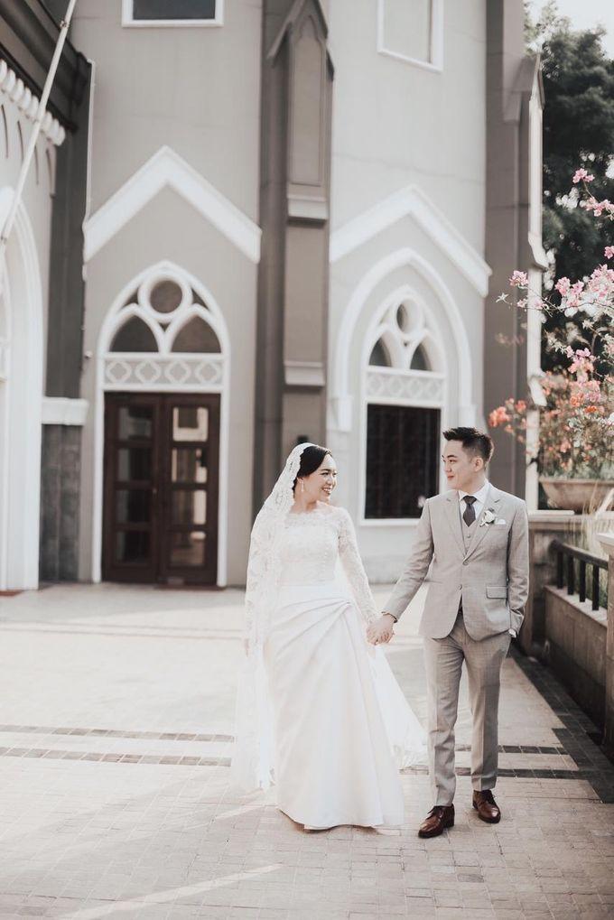 The Wedding of Dimitri & Amanda by PRIVATE WEDDING ORGANIZER - 018