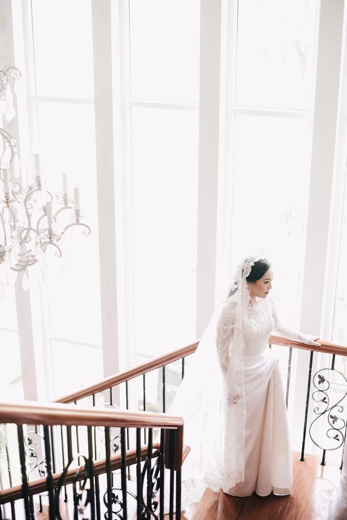 The Wedding of Dimitri & Amanda by PRIVATE WEDDING ORGANIZER - 022