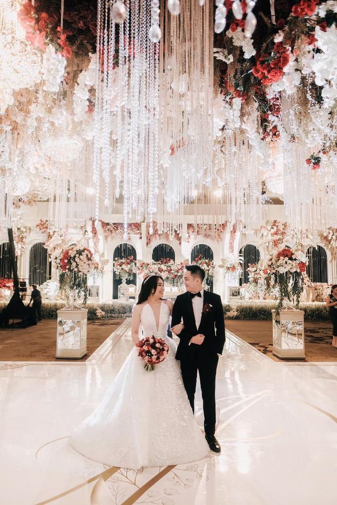 The Wedding of Dimitri & Amanda by PRIVATE WEDDING ORGANIZER - 034