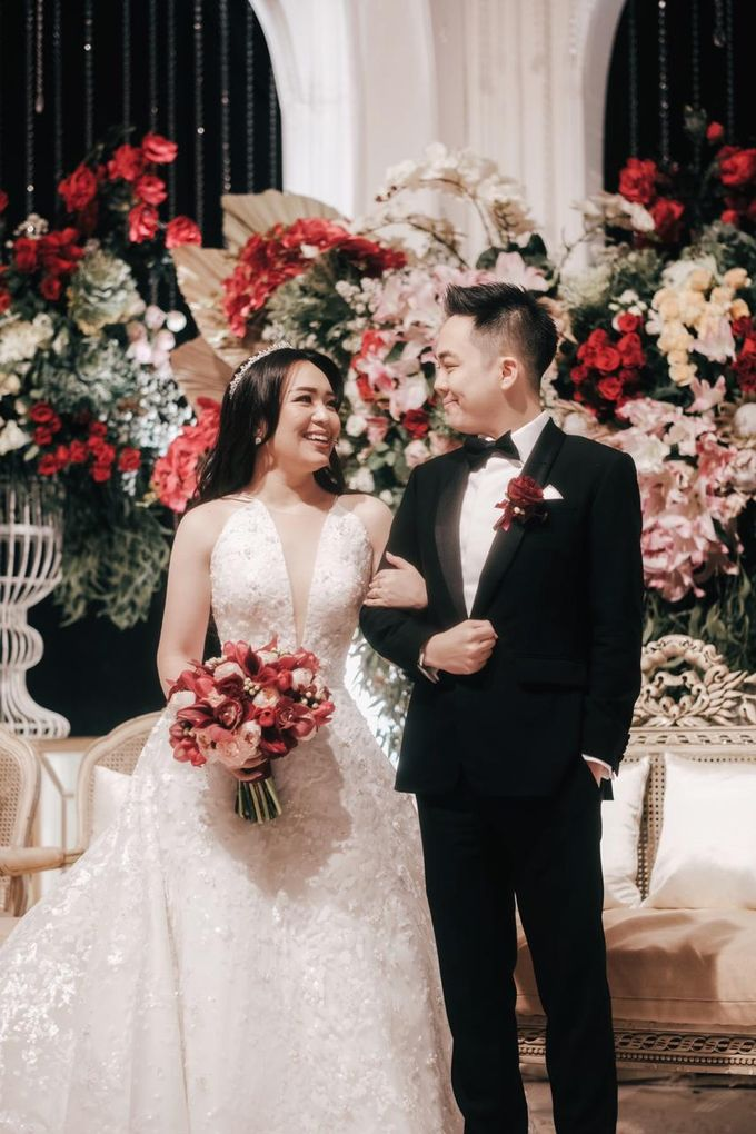 The Wedding of Dimitri & Amanda by PRIVATE WEDDING ORGANIZER - 035