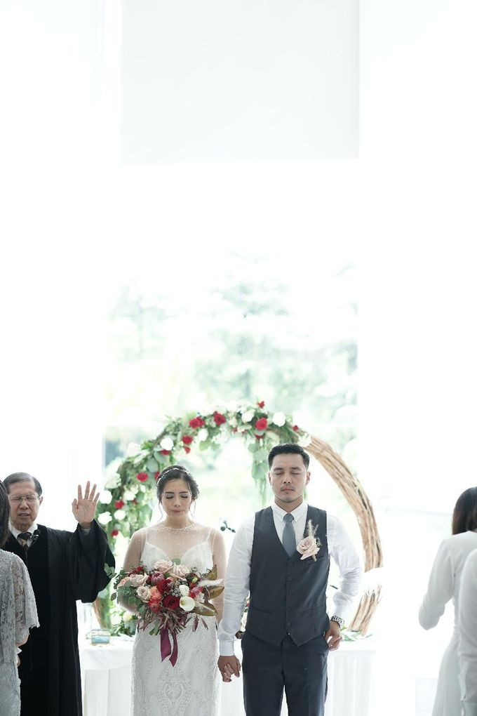 Steven & Jessica Wedding Day by Irish Wedding - 002