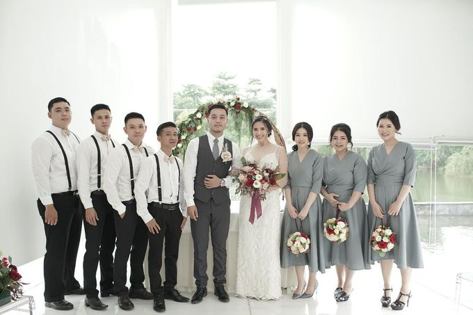 Steven & Jessica Wedding Day by Irish Wedding - 005