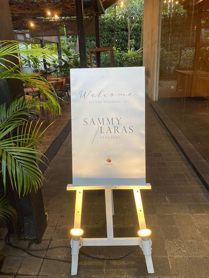 The Wedding Sammy & Laras by AVIARY Bintaro - 001