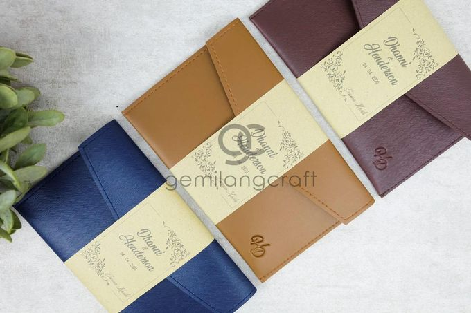 premium envelope packaging roll paper for dhanni & henderson by Gemilang Craft - 001