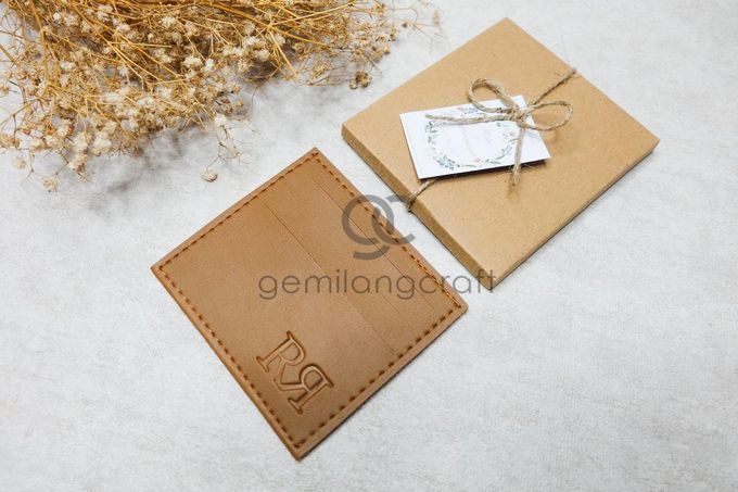 card wallet upgrade craftbox tali serut for rizky & rohmansyah by Gemilang Craft - 001
