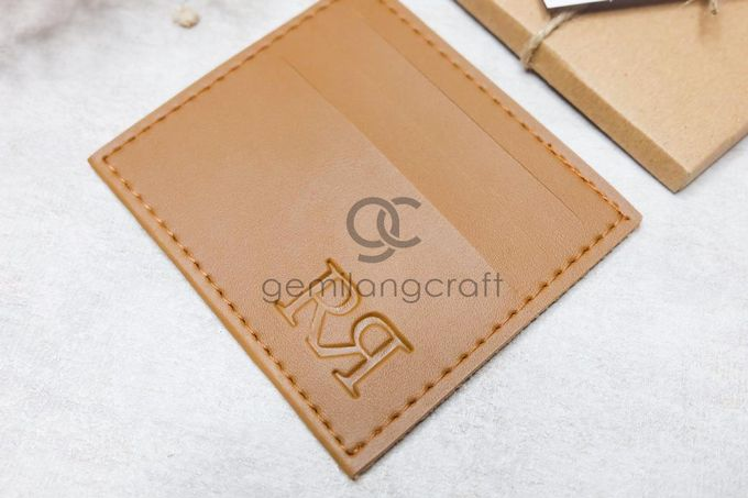 card wallet upgrade craftbox tali serut for rizky & rohmansyah by Gemilang Craft - 002