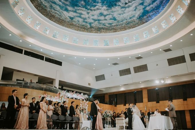 Simply and elegant wedding by Dome Harvest - 002