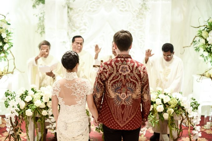 The Wedding of Christ & Olivia by PRIVATE WEDDING ORGANIZER - 010