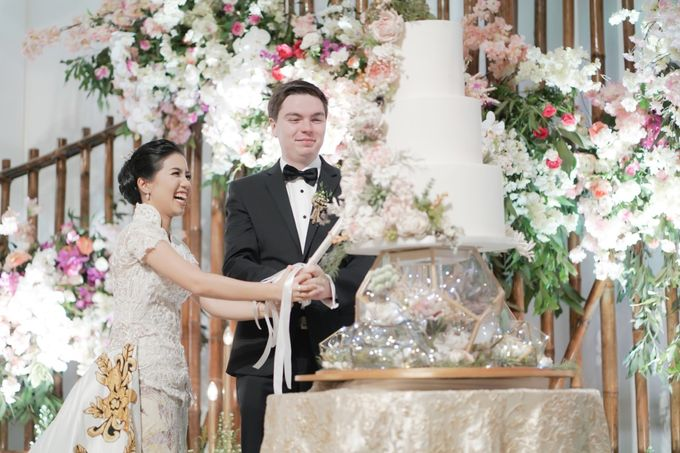 The Wedding of Christ & Olivia by PRIVATE WEDDING ORGANIZER - 035