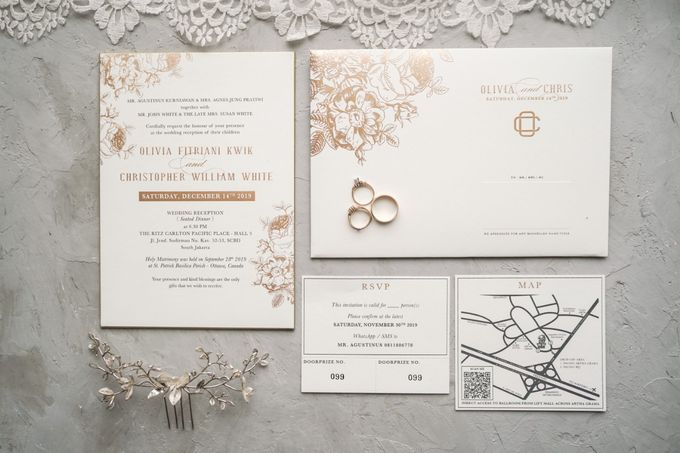 The Wedding of Christ & Olivia by PRIVATE WEDDING ORGANIZER - 022