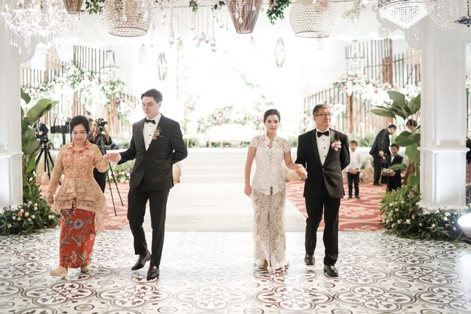 The Wedding of Christ & Olivia by PRIVATE WEDDING ORGANIZER - 037