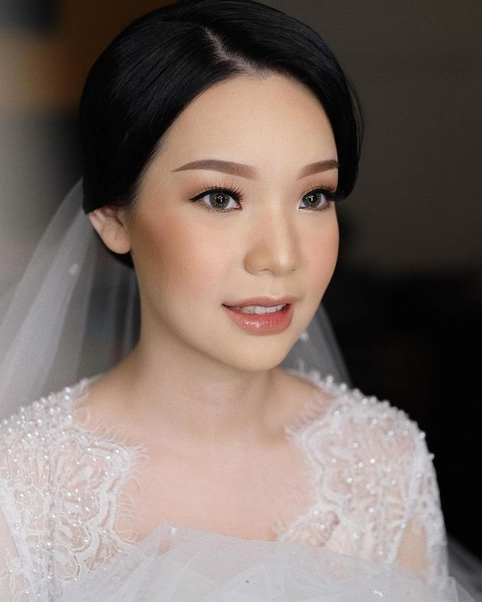 The Wedding by Vanny Adelina by VA Make Up Artist - 029