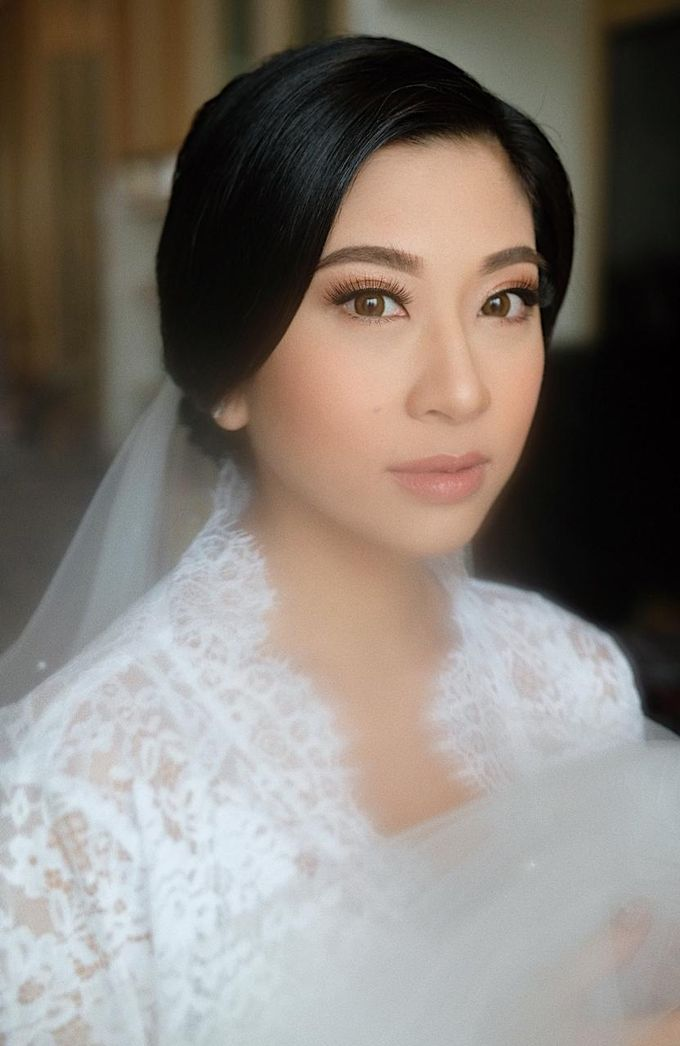 The Wedding by Brigita Indriani by VA Make Up Artist - 038