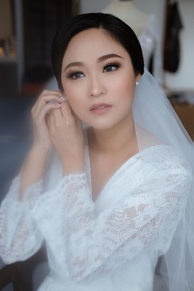The Wedding by Brigita Indriani by VA Make Up Artist - 034