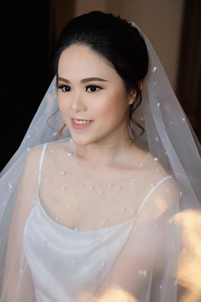 The Wedding by Brigita Indriani by VA Make Up Artist - 035