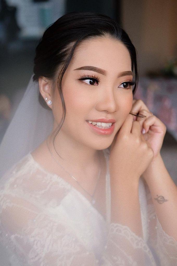 The Wedding by Brigita Indriani by VA Make Up Artist - 033