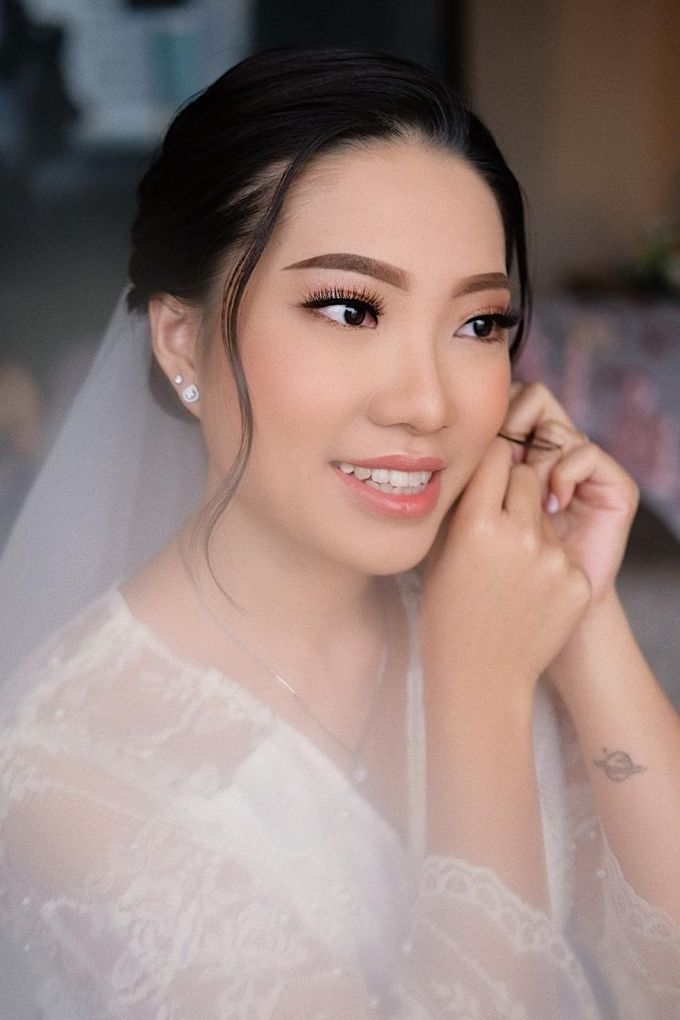 The Wedding by Brigita Indriani by VA Make Up Artist - 036